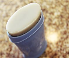 Best Homemade Natural Deodorant - No irritating cornstarch or baking soda. It stays solid at room temperature. You can use a dial up tube. It goes on light and creamy. The recipe is made with butters and waxes, no oils, so it keeps perma pit stains at bay. And much, much more...
