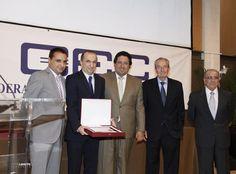 El Colegio San Cristóbal premiado por su trayectoria y calidad en la gala 2013 de la CEC