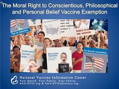 Medical informed consent is a basic human right that gives individuals the ability to decide what risks they are willing to accept when healthcare professionals recommend a pharmaceutical product, or medical treatment/procedure. Vaccines are a pharmaceutical product that carries the risk for failure, injury and death and are not without risk. How does this ethic apply? Learn more at www.NVIC.org.