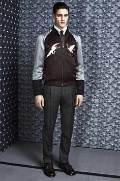 Brioni Fall 2014 Menswear Collection Slideshow on Style.com