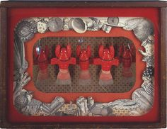 Joseph Cornell (and lobsters!) A Pantry Ballet at the Nelson Atkins Museum in Kansas City. A favorite.