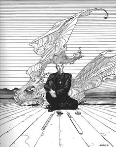 "inthevortex222: "" art by Jean Giraud(Mœbius) """