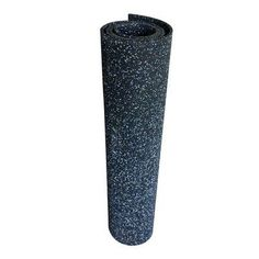 "Rubber-Cal, Inc. ""Elephant Bark"" 144"" Recycled Rubber Flooring Roll"