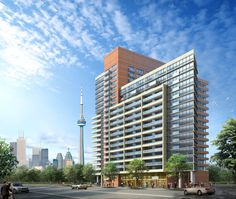 Builder's description: A new future is unfolding here with the Bridge condominiums standing as the quintessential flagship. It's a vision spanning two city blocks, joining together and promoting new connectivity between the people and places of three incredible West Toronto neighbourhoods.
