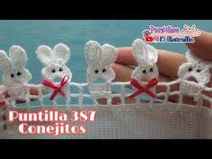 Crochet Edging Patterns, Filet Crochet Charts, Crochet Borders, Doily Patterns, Baby Knitting Patterns, Diy Crochet Elephant, Crochet Bunny, Baby Nest Pattern, Beginner Crochet Projects