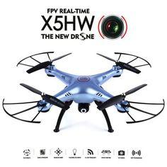 Syma X5HW WiFi FPV 0.3 Mega Pixel Camera 2.4G 4 Channel 6-axis Gyro Quadcopter RTF #offroad #hobbies #design #racing #quadcopters #tech #rc #drone #multirotors