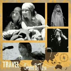Christie & Stevie Fleetwood Mac Collage Created By Tisha 05/25/15