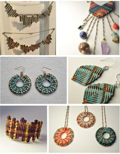 macramé jewelry. does anyone know a tutorial for this?!