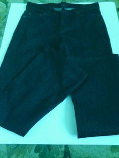 Women's Black Very Nice Calvin klein Flared Jeans Size 4