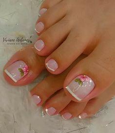 Pretty Toe Nails, Pretty Toes, Dali, Beauty, Toenails, Pretty Nails, Work Nails, Pretty Pedicures, Simple Toe Nails