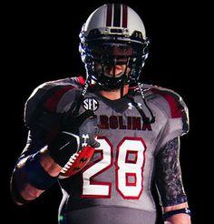 "I LOVE THESE UNIFORMS- South Carolina Will Wear Special ""Battle"" Football Uniforms vs. LSU"
