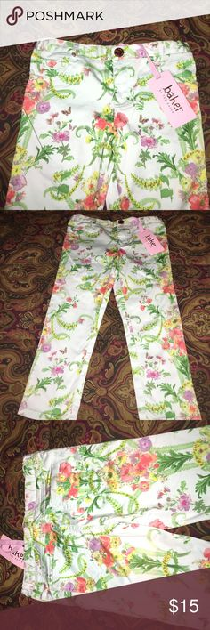 Adorable Little Girl Pants By Ted Baker NWT My grand never wore these. They are so adorable  Baker by Ted Baker Bottoms Casual