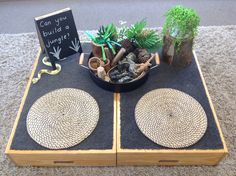Ecosystem parts and connection Play Based Learning, Learning Through Play, Learning Centers, Early Learning, Reggio Inspired Classrooms, Reggio Classroom, Work Activities, Preschool Activities, Childcare Rooms