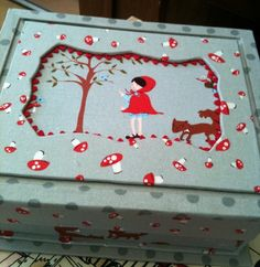 Little Red Riding Hood Themed Box