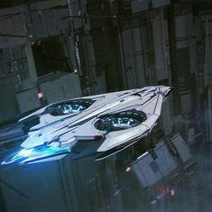 Capital shuttle. — Art by Thibault Girard » On ArtStation. Space Ship Concept Art, Concept Ships, Spaceship Art, Spaceship Design, Stargate, Sci Fi Rpg, Arte Sci Fi, Space Tourism, Starship Concept