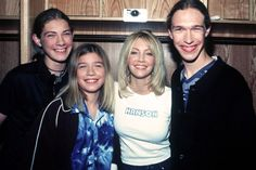 Hanson (with Heather Locklear, not in the band). Vote here >> http://www.mtv.com/content/news/2012/boybandbattle/