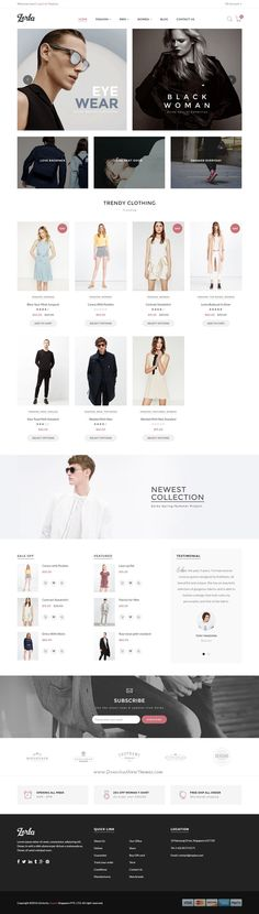 Zorka is a wonderful Shopify Theme suitable for any kind of #FashionShop and all kinds of #marketplace business that needs a feature rich and beautiful presence online #website.