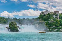 Most beaufitul landscapes in Europe - Rhine falls