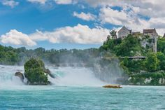 Most beaufitul landscapes in Europe - Rhine falls Copyright VitalyPeklich - European Best Destinations