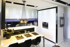 Kuchnia w 50 m2 mieszkaniu. - Kuchnia - Styl Nowoczesny - MM DeSign Małgorzata Mazur