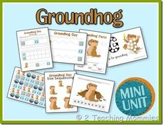 *FREE* Groundhog's Day Printable Pack