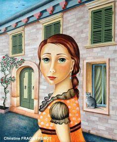 Na ce en Galicia, España pero a los 6 años se traslada a Paris. A los 12 años descubre su pasión por el dibujo realizando caricaturas y estampas japonesas. En 1990 se traslada al sur de Francia con sus dos hijos y allí nace el tercero y renace su amor por la pintura. Redescubre los grandes maestros de la pintura; Da Vinci, Raphael, Brueghel, Modigliani, Cezanne...todos le fascinan pero el descubrimiento de los prerafaelitas y de Rousseau serán el elemento esclarecedor. Pasa de pintar…