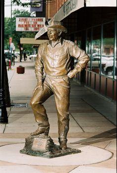 Ronald Reagan - 40th President of the United States. #CityofPresidents #downtownrc