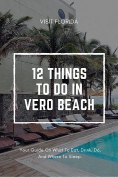 If you're interested in visiting a quiet coastal beach town, Vero Beach is the place you want to be. The town should be on the top of your bucket list. Beach Vacation Rentals, Vacation Deals, Florida Vacation, Florida Travel, Travel Usa, Florida Trips, Beach Vacations, Vacation Destinations, Vero Beach Disney