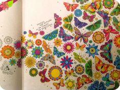 Jardin secret, Carnet de coloriage & chasse au trésor antistress de Johanna Basford