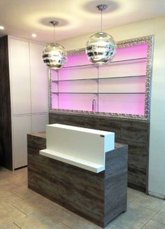 ZEBRA VISO #design #interiordesign #DARK #hairdresser's saloon project Belgium