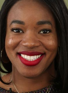 "We Tried 5 ""Universally Flattering"" Red Lipsticks – & This One Worked On Everyone+#refinery29"