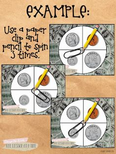 Spin to Cha-CHING! A Coin Counting Freebie!