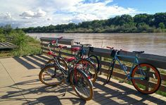 routes bicycle tours takes you on a scenic bike ride along the rio grande river on our DAILY Bosque Bike Tour.