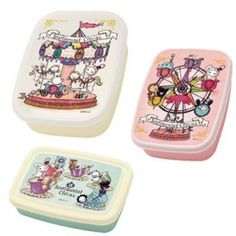 Sentimental Circus Nested Lunch Bento Box set