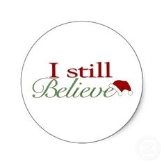 Image result for I believe in santa clipart