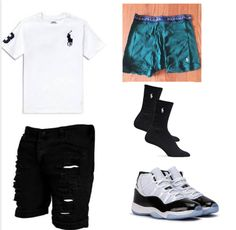 Black Men Summer Outfits, Summer Swag Outfits, Teen Swag Outfits, Dope Outfits For Guys, Tomboy Outfits, Cool Outfits, Teen Boy Fashion, Tomboy Fashion, Women's Fashion