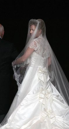 Autumn Kelly on her wedding day (daughter in-law of Princess Anne, the Princess Royal)