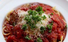 Culy Homemade: klassieke spaghetti met tomatensaus & gehaktballetjes