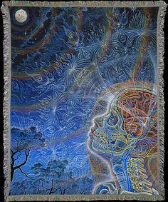 Wonder ~ Alex Grey | Art Blankets Online
