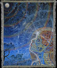 Wonder ~ Alex Grey | Art Blankets Online