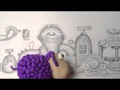 The story of Crumbwool Wool Carpet, New Zealand, Sheep, Animation, Studio, Purple, Wool Rug, Studios, Animation Movies