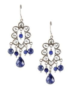 #YvonneChrista for#FirstPeopleFirst #orecchini in#argento #925 #earrings#silver#bohochic #hippiechic #Style#fashion #blue