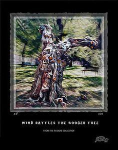 Wind Rattles The Booger Tree by Joe Paradis