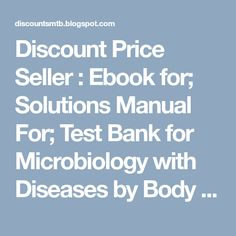 Foundations in microbiology 8th edition by kathleen park talaro test discount price seller ebook for solutions manual for test bank for microbiology with fandeluxe Choice Image