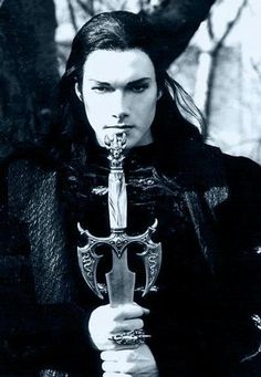 Michael Jackson Goth. Watched a LOT of Underworld. Prepared to kill werewolves.