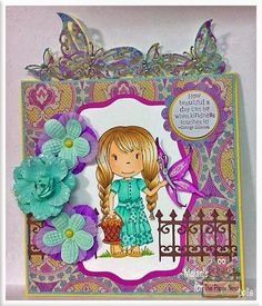 Fairy Stamp Land: The Paper Nest Dolls ~ Butterfly Friend