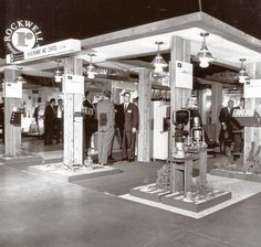 When Rockwell Manufacturing Co. displayed its humble saws, belt sanders, and other power tools at this 1950's hardware show, attendees never could have guessed that Rockwell would eventually manufacture the first 700-pound, Frigidaire-sized modem. Without it, Amazon.com would just be a river in Brazil and Yahoo! would be nothing but a cowboy's exclamation. Now Rockwell Automation Inc., the company exhibits at shows as diverse as the Sea Air Space Exposition and the Automation Fair.