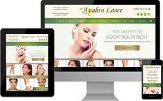Avalon Laser | www.avalon-laser.com | San Diego, Carlsbad, Del Mar, CA | One of our latest cosmetic website designs! | Avalon Laser is an elite laser treatment clinic and medical spa offering a wide range of cosmetic dermatology and skin care options.