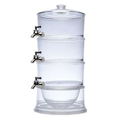 FIVEMORE | Acrylic Triple Beverage Dispenser - Homeware - 5rooms.com