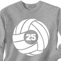 ChalkTalkSPORTS' t-shirts exemplify your passion for volleyball! Our rugged 100% cotton t-shirts are built for comfort and to last.